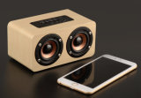 De houten Draadloze Sterke Professionele Spreker Bluetooth van de Macht
