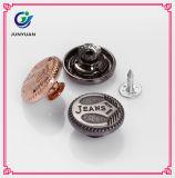 Le logo fait sur commande de boutons de rivets de jeans a fait des boutons en métal pour des jeans
