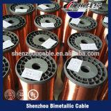 Draad van het Aluminium van het Koper van de Fabriek van China de Prijs Geëmailleerde Beklede (draad ECCA)