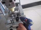 Máquina de impressora de almofada de bandeja de tinta manual de mesa com máquina de exposição