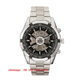 人Fs483のためのハンサムな流行のステンレス鋼の自動動きの腕時計