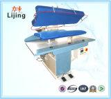 Equipo de lavandería vapor de calentamiento Prensa hierro para fábrica de ropa con la aprobación del CE