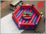 Het opblaasbare Springende Spel T7-303 van de Muur van het Stuk speelgoed van de Sport Grappige Kleverige