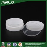 doppel-wandige weiße Haut-Sorgfalt-Sahne-Plastikgläser der Farben-50g mit Zwischenlage und Schutzkappe