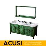 Neue erstklassige Großhandelsqualitäts-amerikanische Art-festes Holz-Badezimmer-Eitelkeits-Badezimmer-Schrank-Badezimmer-Möbel (ACS1-W50)