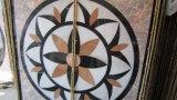 Teste padrão de pedra natural do mosaico do embutimento de mármore do medalhão do jato de água