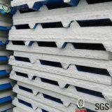 색깔 모듈 조립식 또는 Prefabricated 집에서 이용되는 강철 샌드위치 위원회