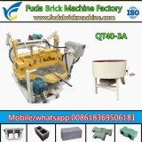 Kleine hydraulischer Kleber-Block-Maschinen-beweglicher Block, der Maschine herstellt
