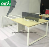 Muebles de oficinas del estilo del escritorio del marco del vector de acero moderno de la oficina