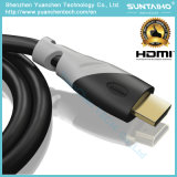 De Kabel van Enthenet HDMI van het Jasje van pvc voor HDTV Projector met 1.4/2.0