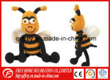 Jouet mou mignon d'abeille pour le cadeau de bébé