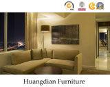 現代簡単な様式のホテルの寝室の家具(HD606)
