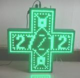 Indicador de diodo emissor de luz ao ar livre da cruz da farmácia do diodo emissor de luz de HD com preço de fábrica