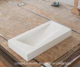 Disegno dei Governi di stanza da bagno con il bacino di superficie solido di Corian