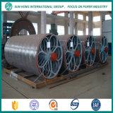 La fabricación de papel utilizó el molde del cilindro del acero inoxidable
