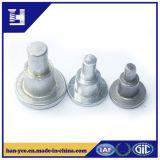 L'aluminium ou l'acier a personnalisé le rivet d'opération