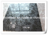 Plaque de presse en acier inoxydable avec divers motifs
