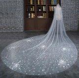 Personalizar uns/dois o véu Wedding da camada 1m/1.5m*1.5m/3m/3.5m