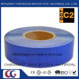 Cinta reflexiva retra del grado azul del diamante para el tráfico (CG5700-OB)