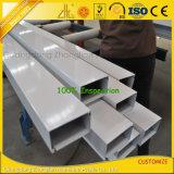 OEM Profiel van de Pijp van de Buis van de Uitdrijving van het Aluminium het Rechthoekige Vierkante