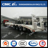 Semi-remorque Cimc 3axle Lowbed (TRAIN CARRY)