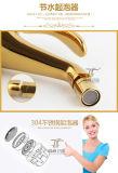 Escolhir o Faucet mágico de bronze do misturador do Bidet da lâmpada Zf-F30 do ouro luxuoso do punho