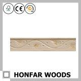 Modanatura di modellatura di legno della parte superiore del soffitto normale del materiale da costruzione