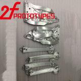 Piezas para corte de metales de aluminio de la máquina del CNC de la creación de un prototipo de la alta precisión