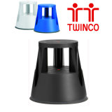 Fabricantes de escalera de China Twinco Taburete de 2 pasos para oficina
