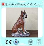 Собака боксера смолаы изготовленный на заказ домашнего украшения животная