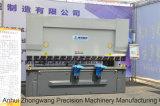 Wc67k 100t/4000 Torsions-Mittellinie Servo-CNC-Presse-Bremse
