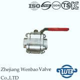 Wb-01 A105 forjou a válvula de esfera de alta pressão de aço 3000psi