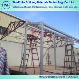 Casa pré-fabricada de construção boa da construção de aço do painel de sanduíche do frame de aço do projeto