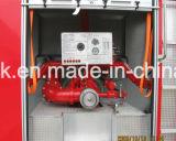 FAWの4X2/4X4普通消防車、消火活動のトラック