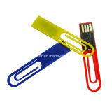 Mini bastone del USB Pendrive della plastica dell'istantaneo di memoria del USB della clip