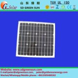 18V 30W Mono Panel Solar para el sistema 12V