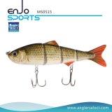 マルチ接合された採取のリアルな小魚の魅惑の低音の餌のSwimbaitの浅い釣り道具釣魅惑(MS0515)