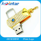 Metallspeicher-Stock-Schwenker USB-Blitz-Laufwerk des Diamant-USB3.0