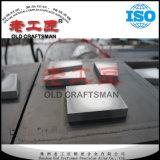 Placa de válvulas de mariposa de carburo de tungsteno fabricada original