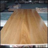 Étage en bois conçu de chêne blanc/plancher en bois
