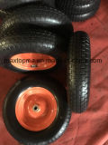 Maxtop Rubber Flat Free PU Foam Wheel