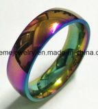 색깔 스테인리스 반지 SSR2769가 새로운 디자인에 의하여 눈을 부시게 한다