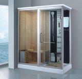 sauna combiné par vapeur de 1750mm avec la douche (AT-D8863)