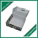 ハンドルによって着ることのための波形の包装ボックス