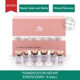 Il ripristino della ferita di guida dei contrassegni di riparazione alleggerisce l'essenza di riparazione della pigmentazione di cura di pelle della pigmentazione