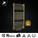 황금 호화스러운 스테인리스 전기 방열기 격렬한 수건 온열 장치 (9006G)