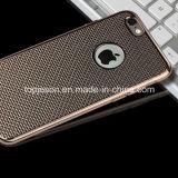Het verschillende Geval van de Telefoon van het Net van de Straling van de Hitte van de Kleur voor iPhone 6