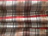 Habotai de seda impresso na verificação pequena
