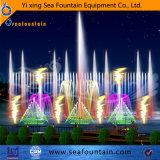 Fontaine de flottement du module Ss304 de lac matériel en bois music 3D