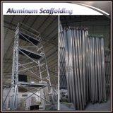 Aluminiumstrichleiter-Rahmen-beweglicher Baugerüst-Aufsatz